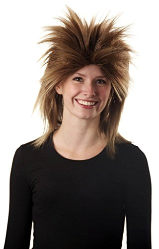 [My Costume Wigs Women's Tina Turner Wig (Frosted Blonde) One Size fits all] (Tina Turner Wigs)
