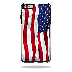 Generic Protective Vinyl Skin Decal Cover for OtterBox Symmetry iPhone 6 4.7inch Case Cover Sticker Skins American Flag