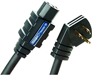 flatscreen powerline 200 extension cord with iec connection 2 feet discontinued. Black Bedroom Furniture Sets. Home Design Ideas