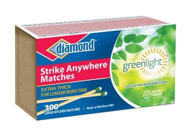 Diamond Green Light Strike Anywhere Matches (Best Strike Anywhere Matches)
