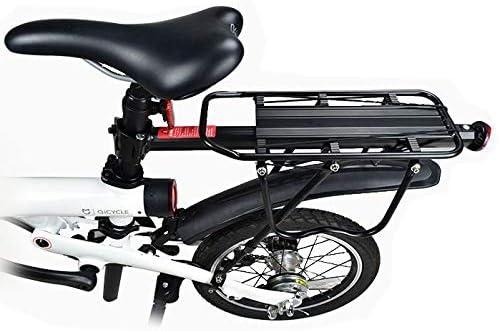 MXBIN Rack de sorage de aleación de Aluminio for Qicycle EF1 Rack de Carga de Bicicleta eléctrica Rack Trasero Bike Herramienta de reparación de Piezas de Accesorios: Amazon.es: Equipaje