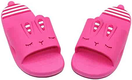 7737e49ea0b Elcssuy Kids Summer Sandals Non-Slip Lightweight Beach Water Shoes Pool  Bath Slippers Sport Slides