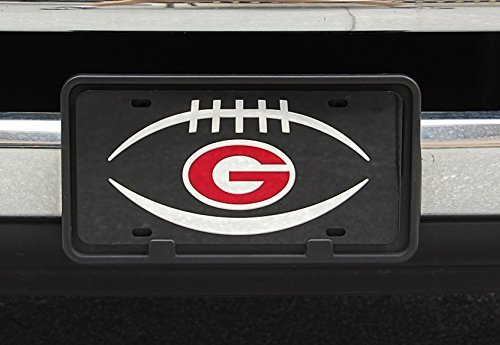 georgia bulldogs mirror laser license