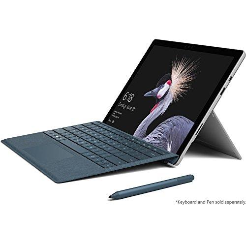 2017 Microsoft Surface Pro 4 12.3″ Laptop/Tablet (2.2 GHz Intel Core M3, 4GB RAM, 128 GB SSD, Windows 10 Pro), Silver
