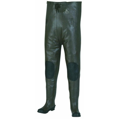 Pro Line Men's Rubber Chest Waders,Brown,12 M