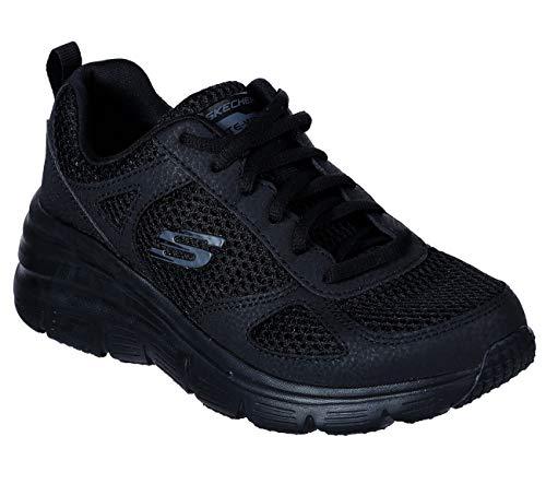 Negro Skechers Color Para Deportivo Calzado Fashion Negro Skechers Mujer Mate Mujer Marca Modelo Fit YIR6nwq