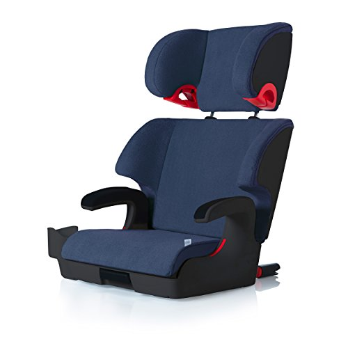 clek oobr high back booster car seat with recline and rigid latch ink. Black Bedroom Furniture Sets. Home Design Ideas
