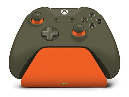 Controller Gear Xbox Pro Charging Stand Zest Orange. for Xbox Elite, Xbox One, S and Xbox One X Controller. Exact Color Match. Officially Licensed and Designed for Xbox - Xbox One by Controller Gear