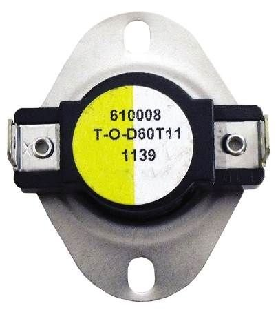 Price comparison product image Supco Therm-O-Disc Fan and Limit Thermostat #L340