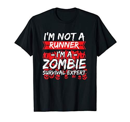 Track & Field Running Zombie Shirt Halloween