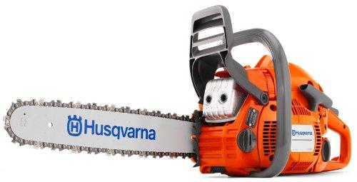 Husqvarna 450 Rancher 18″ Bar 50.2cc 2Cycle Gas Chainsaw (Certified Refurbished)