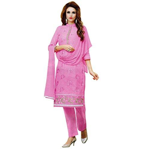 Designer Rich Cotton Embroidered Salwar Kameez Suit Indian Pakistani (Pakistani Designer Shalwar Kameez)
