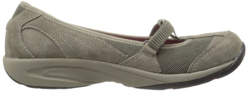 Easy Jane Taupe Dark Lena Women's Flat Mary Spirit BTROBr