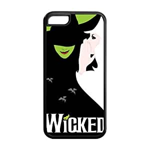 Customize Wicked The Musical Broadway Drama Back Case for iPhone 5 5s5 5s JN5 5s-1355 5s