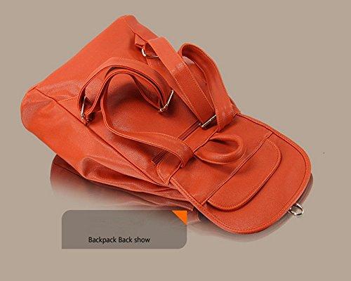 Eysee - Bolso de Mochila Mujer naranja