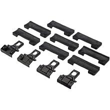 Thule 141205 Kit de Ajuste Personalizado para Montar Techo vehículos sin Puntos de conexión para portaequipajes ni Barras de Serie
