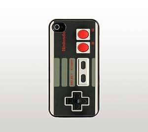 Nintendo NES Controller iPhone 5c Case - Cool Black Plastic Snap-On Cover - Retro Design