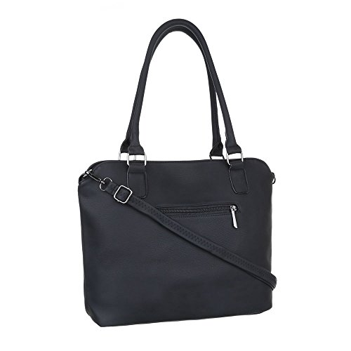 Ital-DesignSchultertasche Bei Ital-design - Bolso de hombro Mujer negro