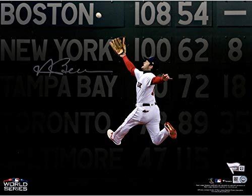 Andrew Benintendi Boston Red Sox Autographed 11