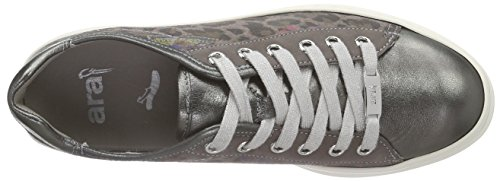 Straße 07 Top ara Sneakers Grau Courtyard Frauen Gun Grau Low xUFwqPH87Z