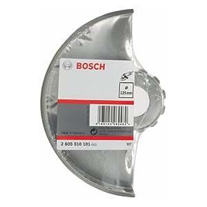 Bosch 2 605 510 101 - Caperuza protectora sin chapa protectora, 125 mm, pack de 1