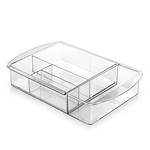 BINO Multi-Purpose Plastic Drawer Organizer