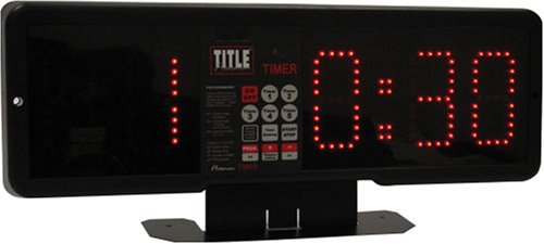 TITLE Professional Fight & Gym Timer by Title Boxing
