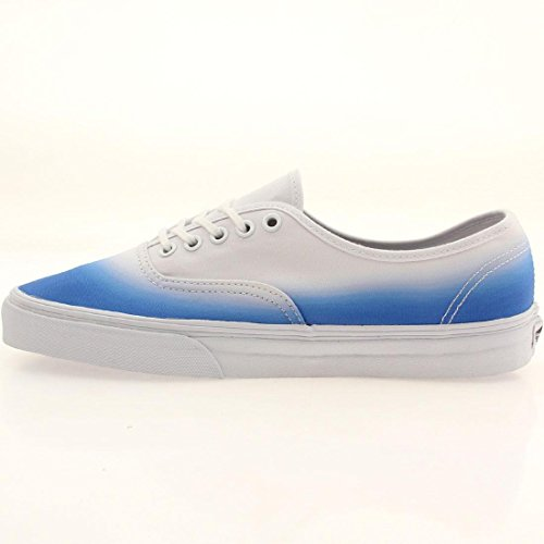 Amazon.com | Vans Authentic Women Round Toe Canvas Blue Sneakers | Fashion  Sneakers