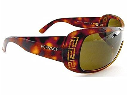 0710d5d8e91 New Versace 4098B 4098-B 461 73 Sunglasses Brown Lens Tortoise Frame Size 01-33-120   Amazon.co.uk  Clothing