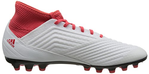 de adidas 3 Blanco Predator para fútbol 000 Correa Botas Hombre AG 18 Ftwbla Negbas wXrSTRqX