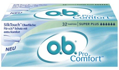 o.b. ProComfort Tampons Super Plus, 32er Packung
