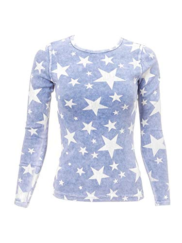Hard Tail Forever Women's Long Sleeve Cotton Crewneck T-Shirt Style T-185