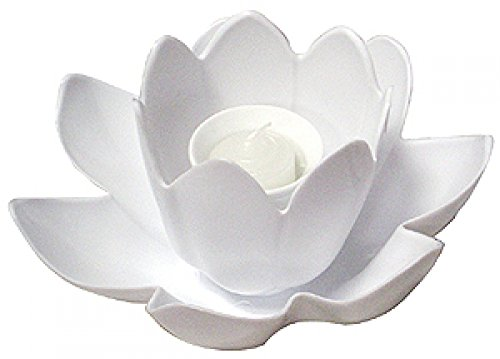 Floating Blossom Swimming Pool Light Single Candle (White Only)