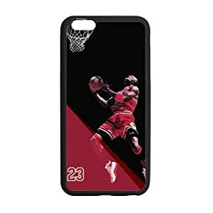 [Accessory] iphone 6 Case, [Michael Jordan] iphone 6 (5.5) Case Custom Durable Case Cover for iphone 6 TPU case(Laser Technology)