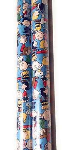 Peanuts Christmas Wrap Paper (2 Rolls) (Peanuts)