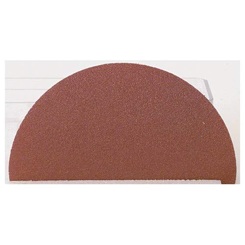 3'' x No Hole-80 Grit - Aluminum Oxide - Coated Abrasive - PSA Disc (Pack of 100)