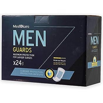 Amazon Com Medokare Incontinence Pads For Men 24pack
