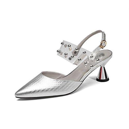 85% OFF Zapatos Nuevo de Mujer de Cuero 2018 Nuevo Zapatos Verano Comfort b5c7a6
