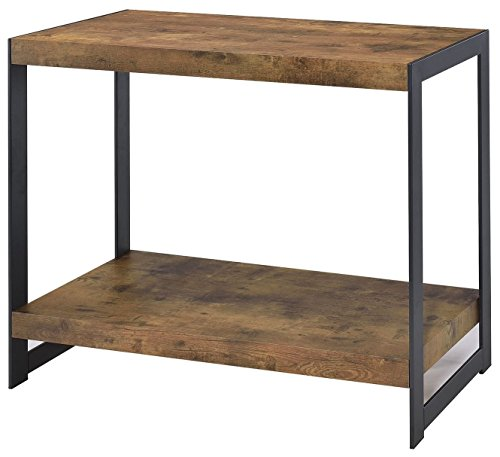 ings 704029 Soft Table, NULL, Antique Nutmeg/Gunmetal (Asian Console Table)