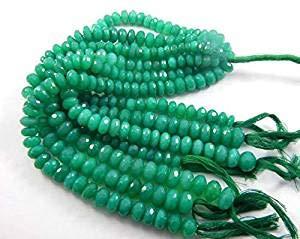 Natural Mandarin Garnet Faceted Rondelle Micro Gemstone Craft Loose Beads Strand 13