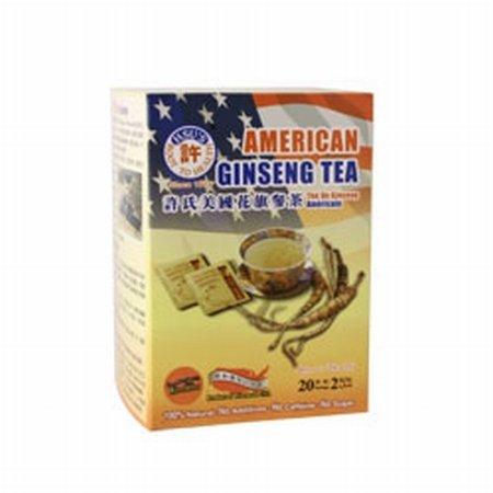 Ginseng Root Tea ((#1036) Hsu's Ginseng American Ginseng Tea 20's (Economic)