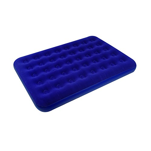 Stansport Deluxe Full Size Air Bed, Blue - 75