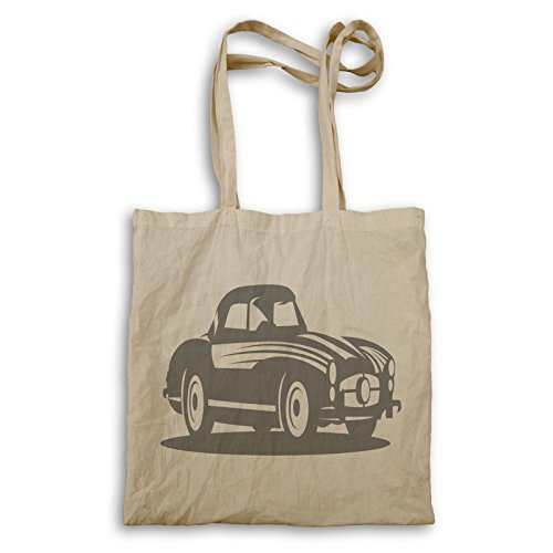 Vintage Oldtimer Novità Tote Bag Divertente A953r