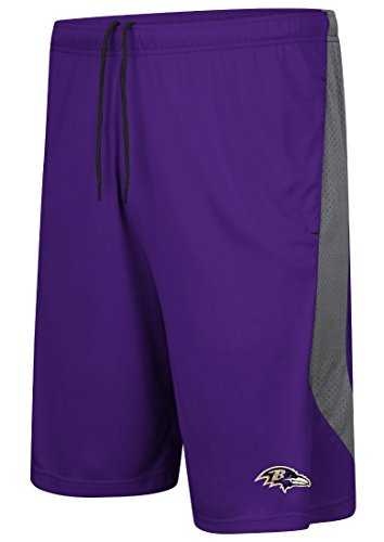 Majestic Baltimore Ravens NFL Last Rally Men's Synthetic Shorts