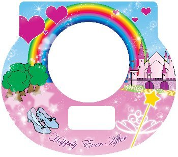 Tot Clock Faceplate: Princess Design ()