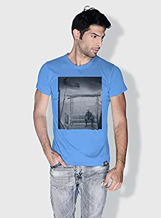 Creo Bus Station Skulls T-Shirts For Men - Xl, Blue