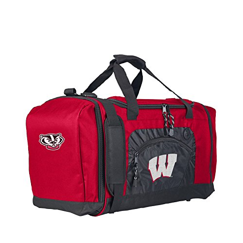 The Northwest Company Officially Licensed NCAA Wisconsin Badgers Roadblock Duffel (Wisconsin Gym Bag Badgers)