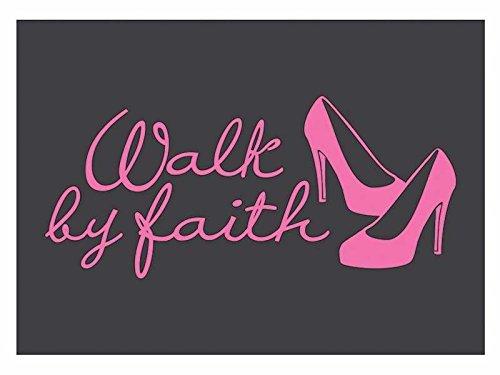 swanson-christian-supply-93623-auto-decal-vinyl-walk-by-faith-pink
