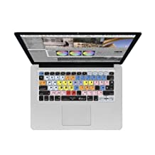 KB Covers MC-M-CC-2 Avid Media Composer Keyboard Cover for MacBook Unibody