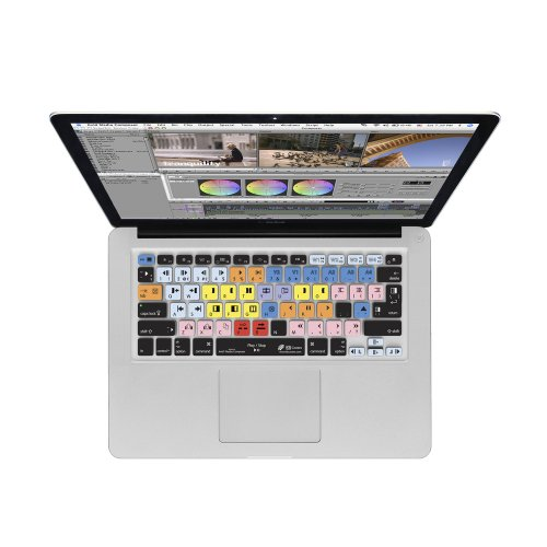 Y Avid Media Composer Keyboard Cover for MacBook Unibody ...